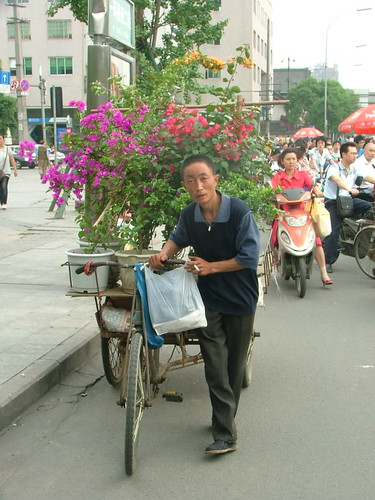 Flower Bike Man