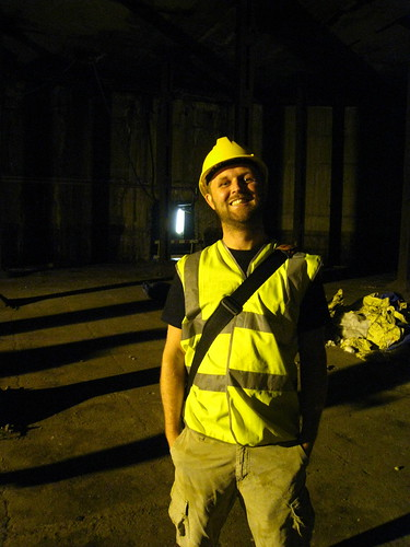 Me in the Tate oil tanks