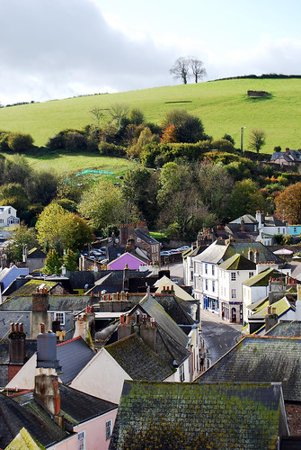 Totnes, by dachalan, under Creative Commons.