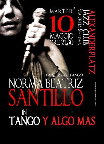"""NORMA BEATRIZ SANTILLO LA VOZ DEL TANGO IN """"TANGO Y ALGO MAS by cristiana.piraino"""
