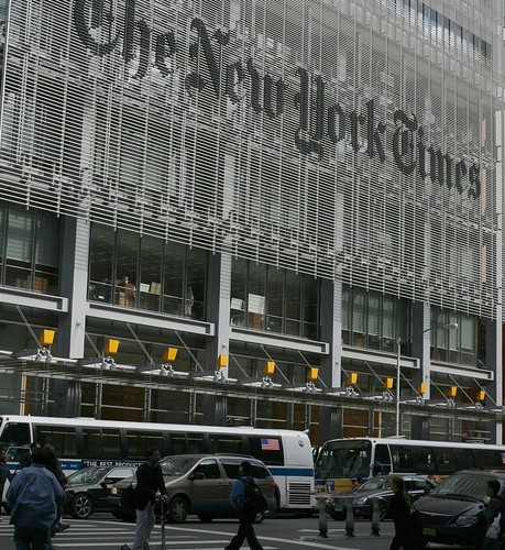 The New York Times building (new style)
