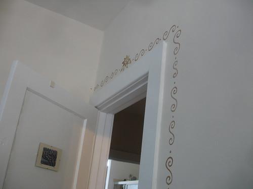 Curly Door Frame 2