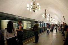 Metro in Moscow // Metro en Moscú