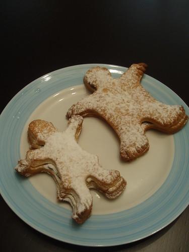 adam ve kadın kurabiyeler