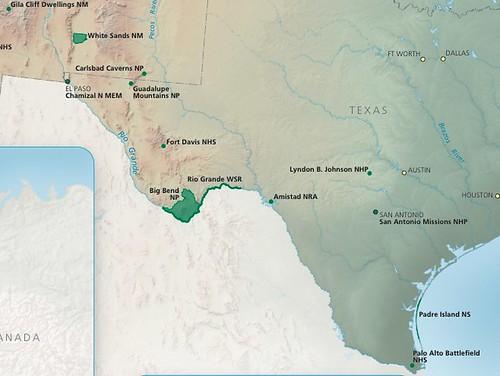 Texas NPS units