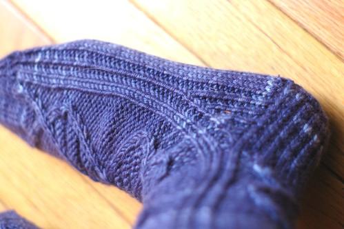 xmas socks gusset