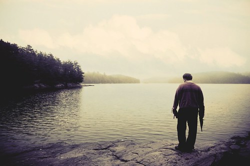 The Young Man and the Lake