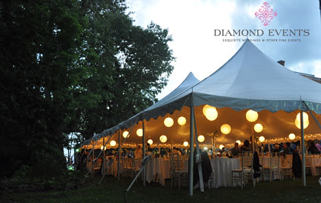 Tent at Rockwood Manor Wedding Reception