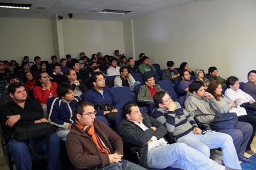 Evaluación FLISOL 2008 en La Serena-Coquimbo