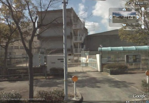Kaminotani Elementary School (the Back Gate)