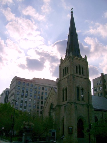 An old church near the capitol.