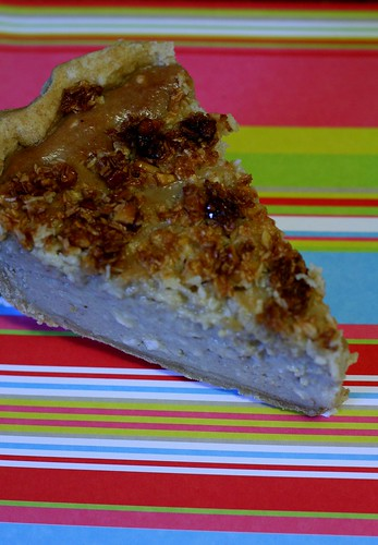 Coconut-Cashew-Banana Pie