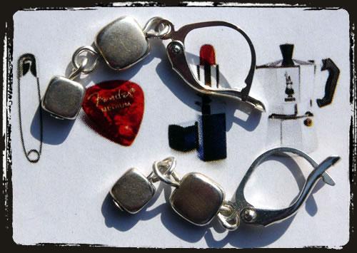 Orecchini argento - Silver earrings MEHLXSA