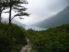 Primera vista del lago (laguna)