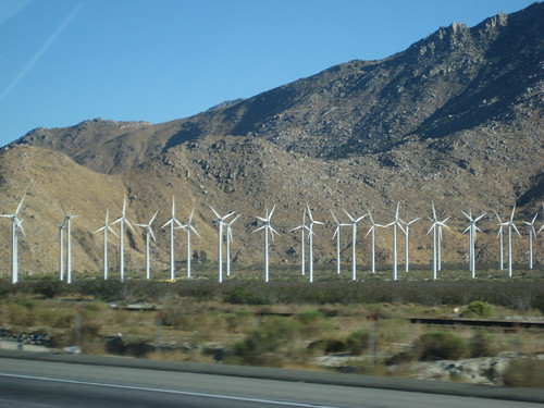 wind farms generate energy