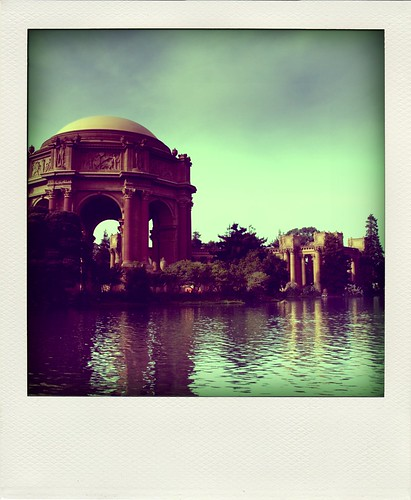 Poladroid - Palace of Fine Arts