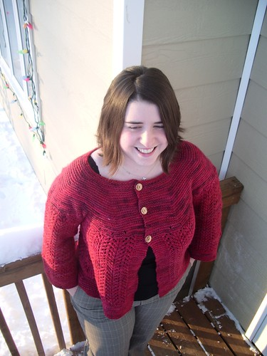 Malabrigo Worsted in Vermillion - A Christmas miracle!