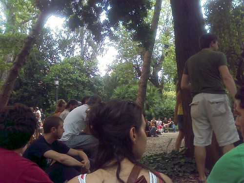 el públic del concert de sanjosex