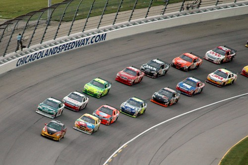 Nascar Pace Lap by Ray Horwath.