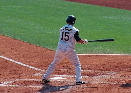 LaRoche looks to finally get his chance at the major league level (Matt Bandi/Flickr).
