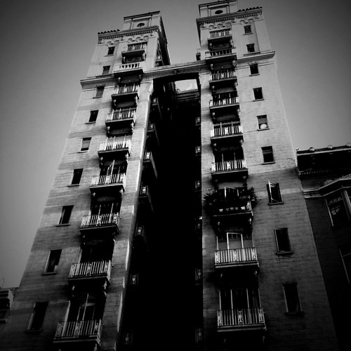 Creepy Building on Geary