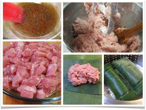 Vietnamese ham- Chả lụa method