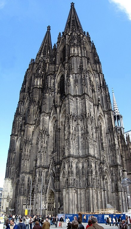 Duomo di Colonia, facciata