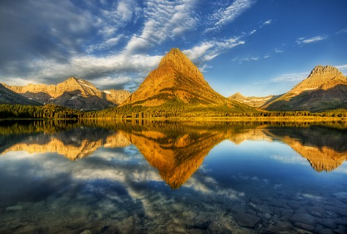 A Perfect Morning at Glacier National Park by Stuck in Customs