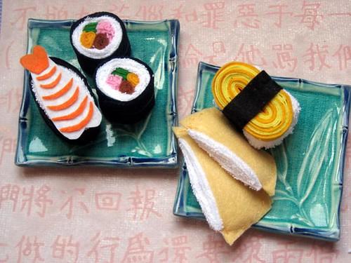 Soft Sushi Toys (5/5)