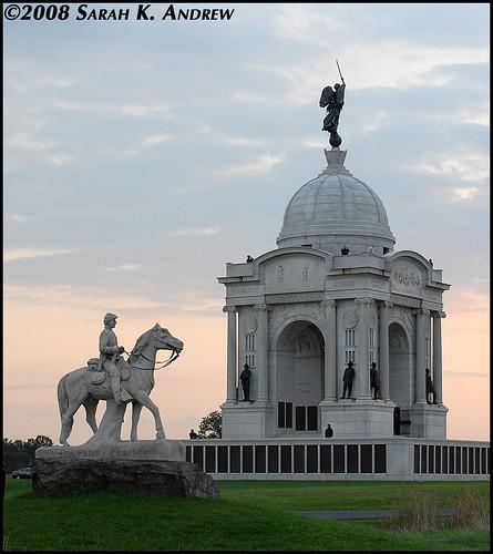 Pennsylvania State Monument at Gettysburg
