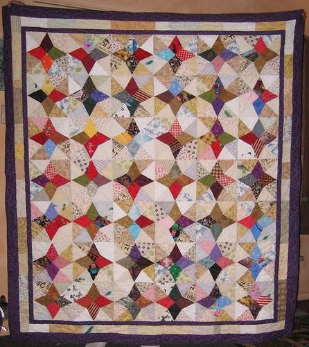 Jewells' birthday quilt!