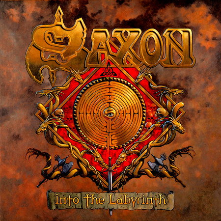 Saxon Into the Labyrinth Cover