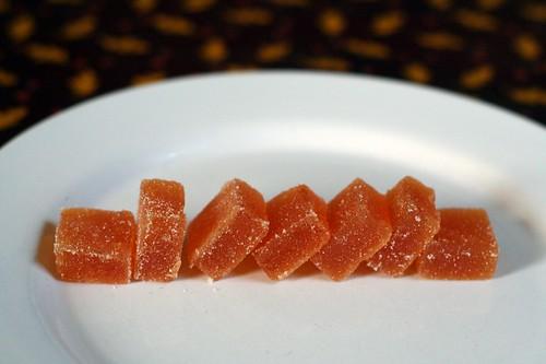 Passionfruit Pate de Fruit