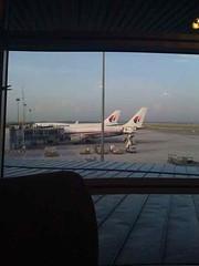 A380 from the Plazza Lounge Kuala Lumpur