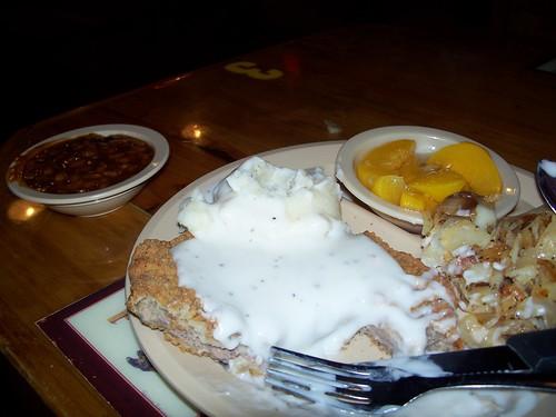 My dinner from Lambert's Cafe.