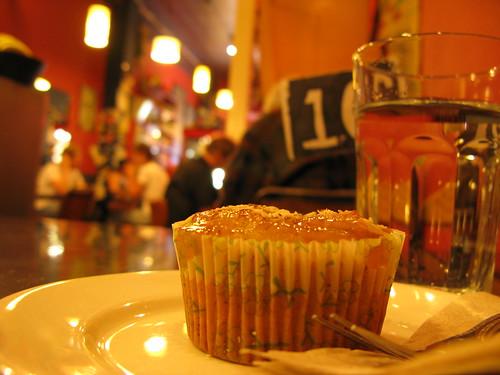 almond cupcake