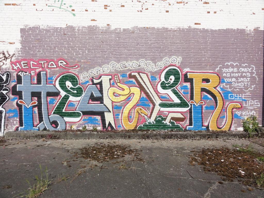 hecktor ups graffiti