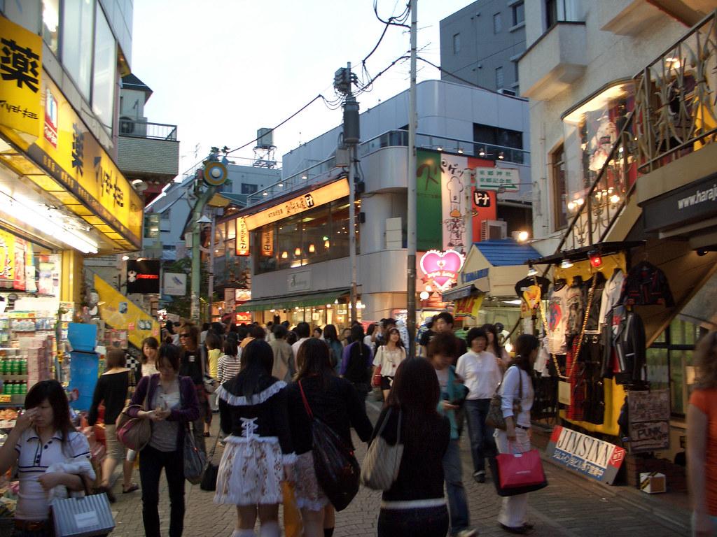 japan tokyo harajuku takeshita dori