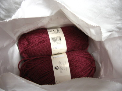 phildar yarn in bag