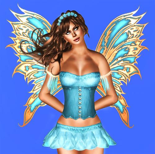 Aqua Fae Fairy