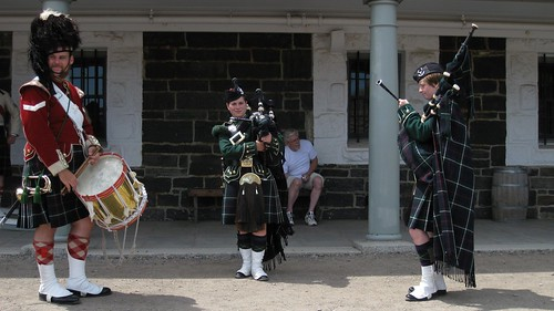 Bagpipe and drums demo