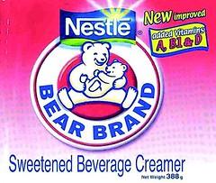 nestle bear brand coffee creamer