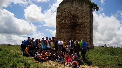 Grupo de senderismo colegio San Felipe Neri (Cádiz)