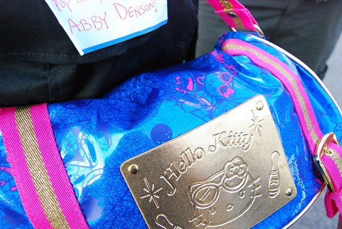 Abby Denson's Hello Kitty bag