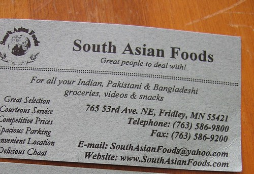 south asian foods, in fridley, mn
