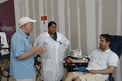 Hurricane Ike Blood Drive in Houston, TX