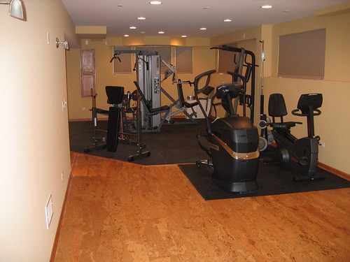 cork flooring for your home gym