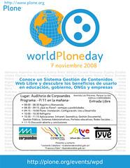 I Dia Mundial de Plone, Mérida 2008