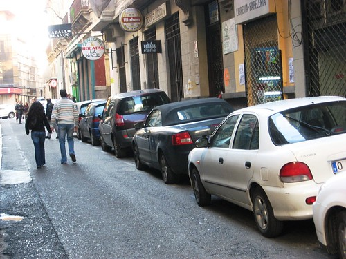Calle Maria Cristina Diciembre 2006.