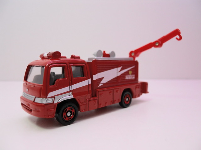 tomica tomy hino firetruck 2 car set (3)